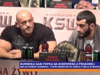 Hardkorowy Koksu zaorał Popka na konferencji prasowej przed walką KSW