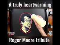 Roger Moore ['] 007 - Amazing cake !!! Check it.