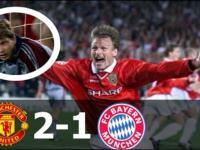 Dokładnie 18 lat temu: Manchester United - Bayern Monachium 2:1