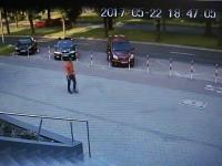 Bardzo szybka reakcja tyskich policjantów na zdarzenie drogowe
