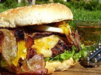 Triple B - Burger (beef, bacon, burbon) -KuchniaKwasiora