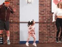 Dziecięce choreografie dla Jennifer Lopez
