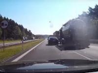 Bandytyzm drogowy na autostradzie A4