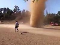 Mecz piłki nożnej w Gwatemali