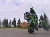 Janusze stunt ridingu!