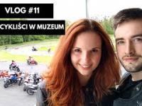 Motocykliści w muzeum