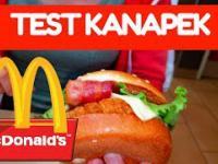 Test jedzenia w amerykańskim McDonald's