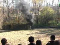 Wybuch pyłu węglowego - zaledwie 40 kg, a jaka siła!
