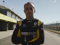 Film z ostatniego testu Kubicy w bolidzie Renault F1