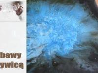 Zabawy z żywicą - kosmos żywica, czyli epoksydowa mgławica