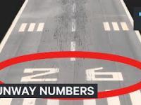 Po co każdy pas startowy ma namalowany dwucyfrowy numer z każdego końca?