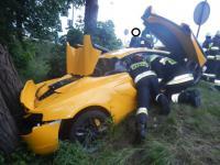 Nie ma kto wycenić rozbitego McLarena, w Polsce nie ma takich rzeczoznawców?