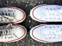 jak wyczyścić białe buty - How to clean white shoes