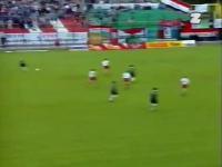Legia - Widzew 2:3 Dwudziesta rocznica pamietnego meczu