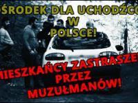 Ośrodek dla uchodźców w Polsce. Mieszkańcy zastraszani przez Czeczenów. (Ośrodek w Lininie)