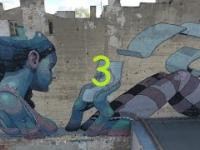 Łódź ul.Pomorska Mural (3)