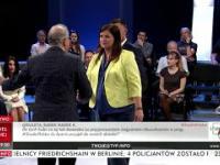 Awantura w programie TVP, goście wychodzą. Studio Polska TVP