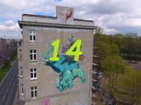 Łódź ul.Uniwersytecka Mural (14)