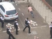 Kuriozalna akcja rozbrojonej brytyjskiej policji