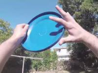 Odzyskiwanie frisbee z dachu!