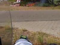 Grill pozostawiony bez nadzoru, doprowadza do zaprószenia ognia i pożaru