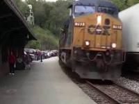 Ludzie kontra pociągi