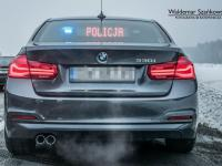 To już pewne. Polska policja w BMW serii 3, a nie w Passatach i Superbach