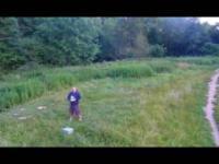 mój lot dronem w Polesden Lacey