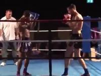 Przepiękne KO w Muay Thai