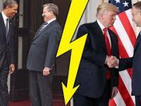 Porównanie spotkań Duda-Trump i Komorowski-Obama