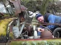 Stare silniki Diesla - odpalanie, rozruch