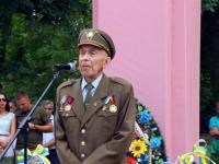Banderowiec umarł w trakcie przemówienia gloryfikującego