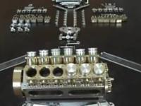 Jak wykonać i złożyć miniaturowy silnik V12!