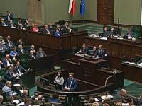 Sejm: incydent z udziałem Szczerby i Kaczyńskiego
