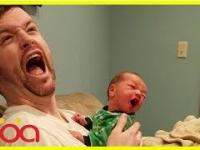 Najlepsi ojcowi zajmują się swoimi malutkimi dzieciaczkami