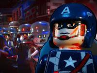 Lego Kapitan Ameryka vs Nazi-Zombie