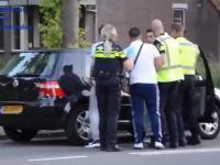 W Holandii 2 policjantów nie może sobie poradzić...