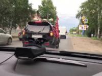 Niedźwiedź na motocyklu, czyli zwyczajny dzień w Rosji