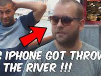 Magik wyrzucił kolesiowi telefon do rzeki