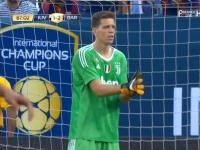Debiut Szczęsnego w bramce Juventusu. W meczu z Barceloną zachował czyste konto