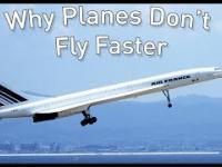 Dlaczego samoloty pasazerskie nie lataja szybciej? ENG