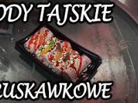 LODY TAJSKIE ROLOWANE - Truskawka i Wanilia - Ice Cream Rolls 3