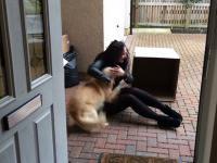 Pies dostaje najwspanialszy prezent
