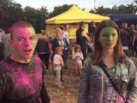 Kilka ujęć z festiwalu kolorów