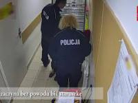 POLICJANCI POBILI STARUSZKĘ W MARKECIE!