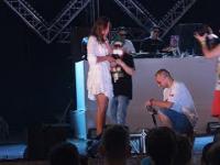 Oświadczyny Wuwunia podczas koncertu