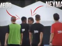 Neymar opuszcza wkurzony trening Barcy! WALKA Z SEMEDO!
