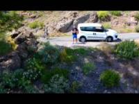 Gran Canaria nagrana dronem - materiał własny
