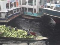 Zwariowany port morski w Bangladeszu