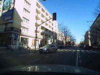 Agresywny taksówkarz Euro taxi